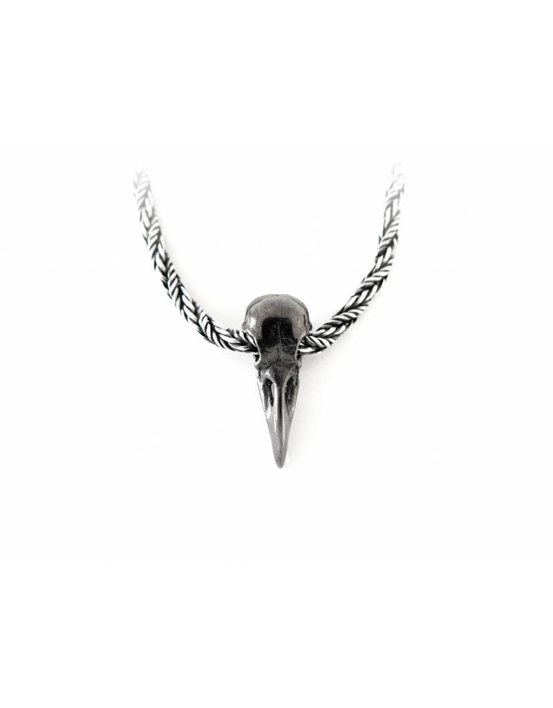 Faerybeads Raven Skull