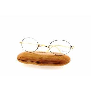 Lunor bril XXV model 04 kleur BC maat 40/19 op vouwbaar