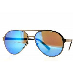 Atelier Vingt - Deux la couleur des lunettes de soleil Atelier Vingt-Deux Témoin lumineux MgR2 Titanium