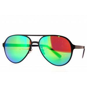 Atelier Vingt - Deux des lunettes de soleil Atelier Ving Deux pilote titane clair couleur CA