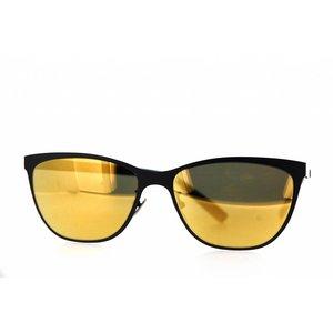 Atelier Vingt - Deux des lunettes de soleil Atelier Vingt-Deux Kitty couleur titane CA