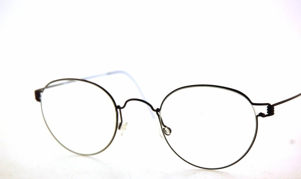 1bce8e6c4c3b85 Lindberg Panto lunettes Matt Rim couleur titane U12 différentes couleurs et  tailles