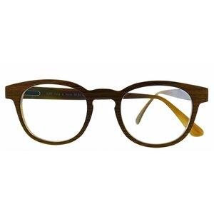 Arnold Booden Lunettes Arnold Booden 3289 couleur Buffalo Horn & Bois lunettes couleurs amarré moglijk de personnalisation