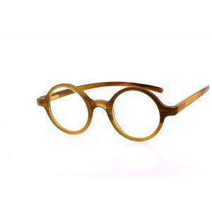 Arnold Booden Glasses Arnold Booden E122 Horn PU color glasses color moored customization moglijk