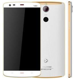 "KINGZONE KINGZONE Z1 Plus White, 4G LTE, 64 bit OCTA-CORE, 5,5"" HD RETINA SCHERM,met FINGERPRINT, 2GB/16GB"