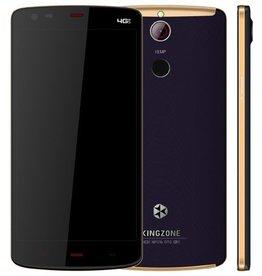 "KINGZONE KINGZONE Z1 Plus Zwart, 4G LTE, 64 bit OCTA-CORE, 5,5"" HD RETINA SCHERM,met FINGERPRINT, 2GB/16GB"