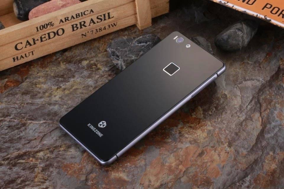 "KINGZONE KINGZONE K2 Black, 4G LTE, 64 bit OCTA-CORE, 5,0"" FHD GORILLA SCHERM, FINGERPRINT, 3GB/16GB"
