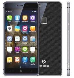 "KINGZONE KINGZONE K2 Zwart, 4G LTE, 64 bit OCTA-CORE, 5,0"" FHD GORILLA SCHERM, FINGERPRINT, 3GB/16GB"