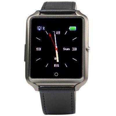 Bluboo BLUBOO Uwatch 1.44'' Smart Watch Bluetooth 4.0 Wristband in Black