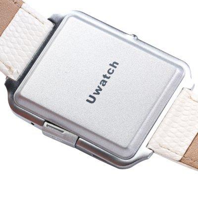 Bluboo BLUBOO Uwatch 1.44'' Smart Watch Bluetooth 4.0 Polsband in Wit