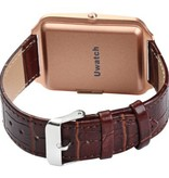 Bluboo BLUBOO Uwatch 1.44'' Smart Watch Bluetooth 4.0 Wristband in Brown