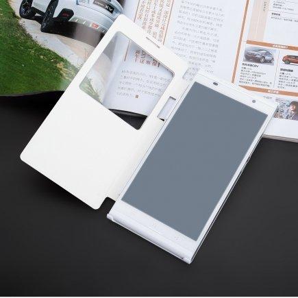 KINGZONE Witte KINGZONE K1 Turbo Wireless Flipcover