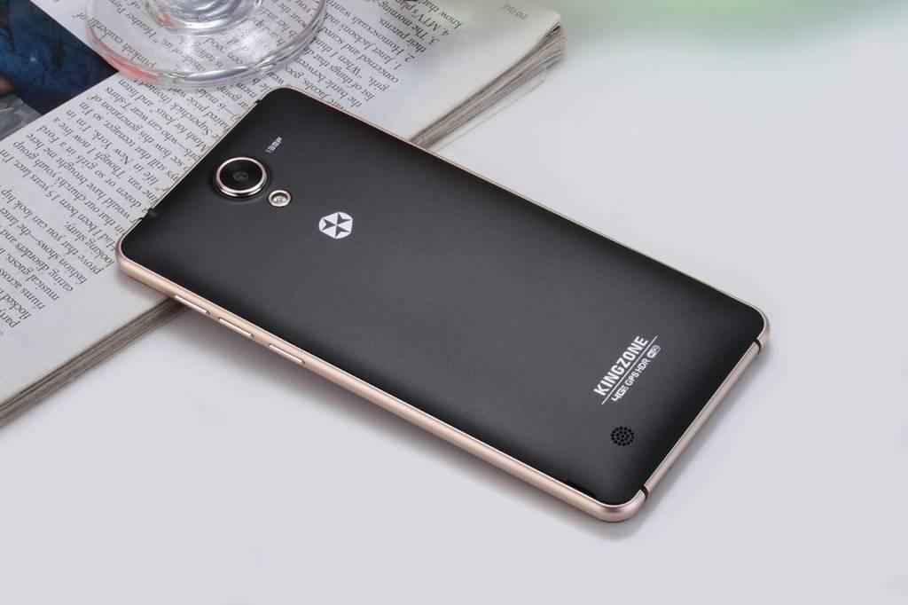 "KINGZONE KINGZONE N5 Black, 4G LTE, QUAD-CORE 5,0"" HD, 2.5D Gorilla Arc Screen, 2GB/16GB"
