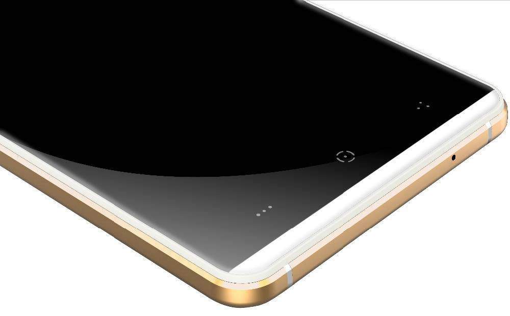 "KINGZONE KINGZONE N5 Wit, 4G LTE, QUAD-CORE 5,0"" HD, 2.5D Gorilla Arc Screen, 2GB/16GB"