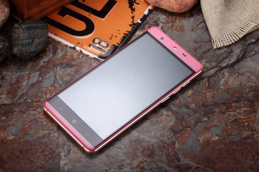 "KINGZONE KINGZONE N5 Pink, 4G LTE, QUAD-CORE 5,0"" HD, 2.5D Gorilla Arc Screen, 2GB/16GB"