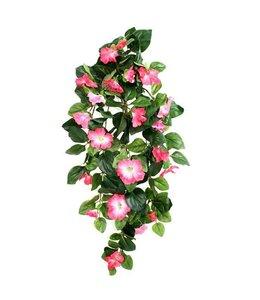 Hangpetunia Deluxe roze 80cm