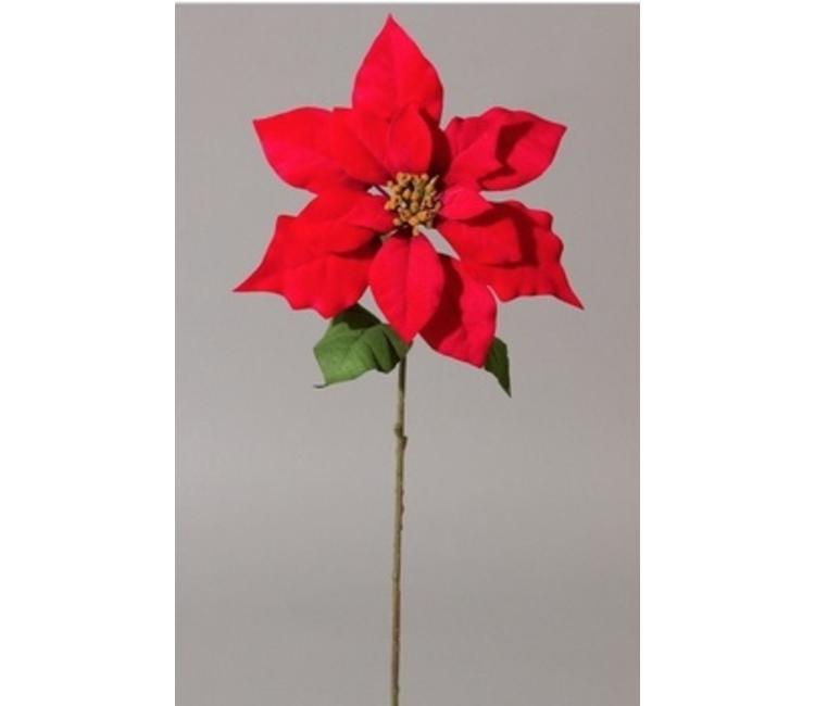 Poinsettia 60 Cm Kunstplantennl