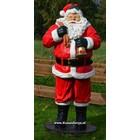 Kerstman met bel 1,80 mtr