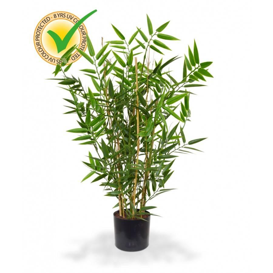 Japanse bamboe kunstplant 60 cm uv for Pflanzen innenbereich