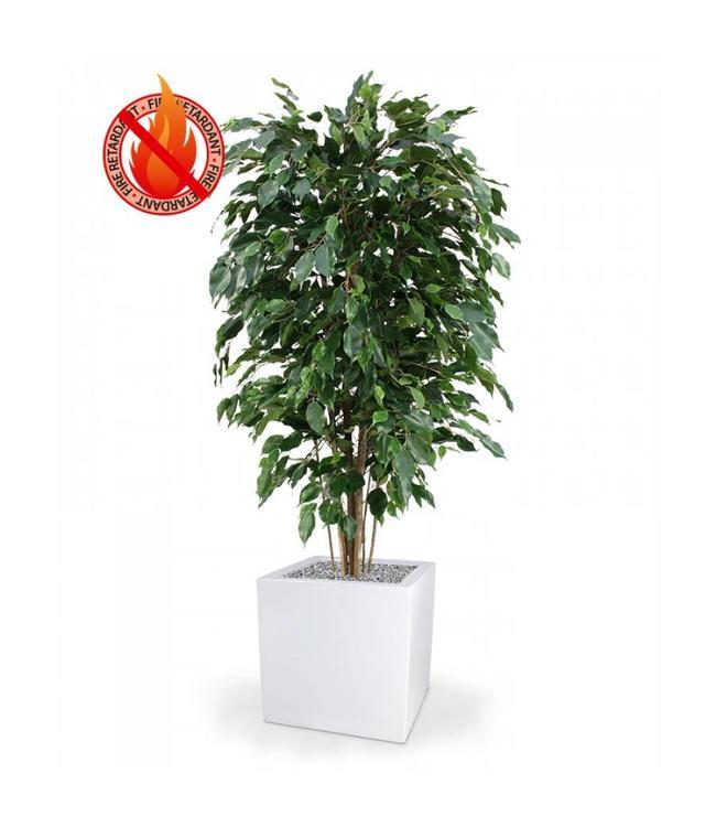 Ficus Exotica Deluxe kunstplant 150 cm groen FR