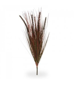 Pennisetum Pluimgras kunstboeket 75 cm herfst