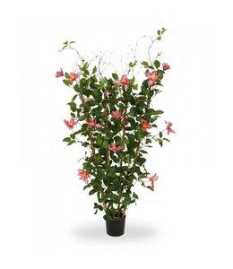 Clematis kunstplant 125 cm rose