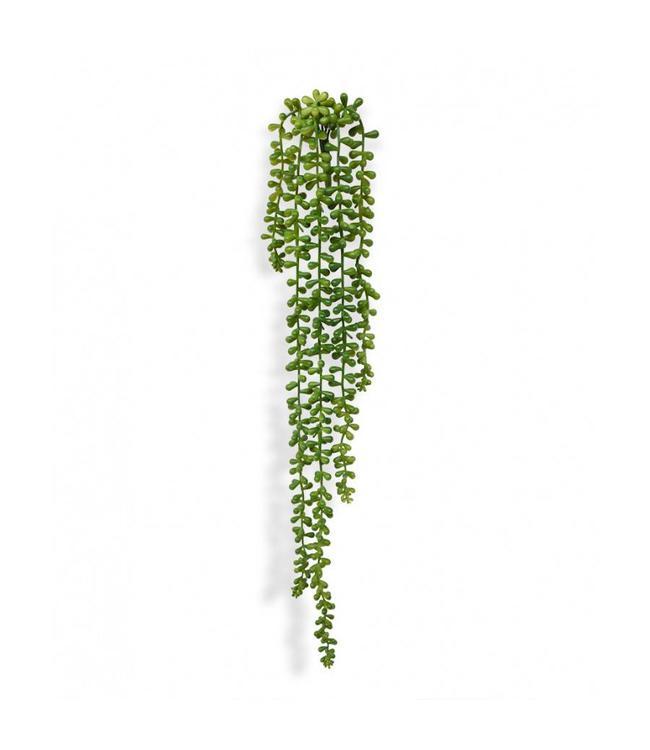 Senecio Pearl kunsthangplant 55 cm