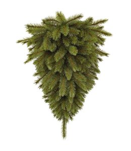 De hangende Forest Frosted Wall Decoration Green kerstboom