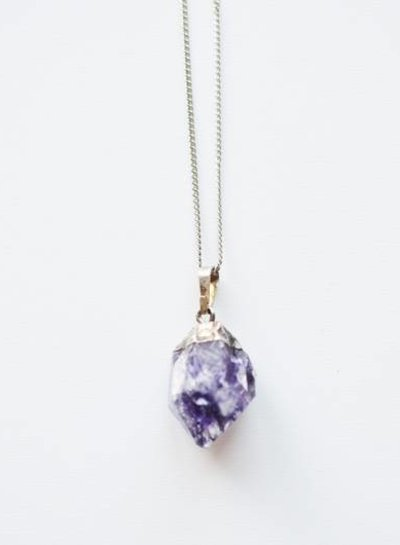 Purple Amethist necklace
