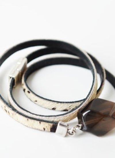 Rook Quartz 2 in 1 armband & ketting