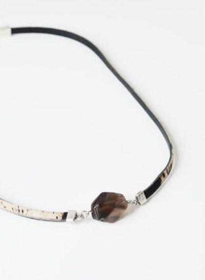 Smoke Quartz 2 in 1 bracelet & necklace