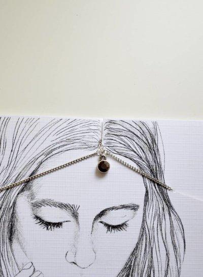 Moon Crystal head chain