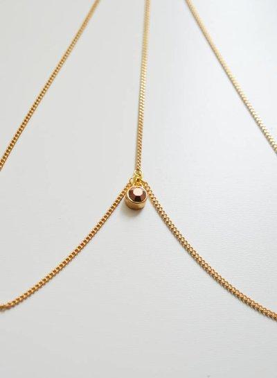 Sun Crystal head chain