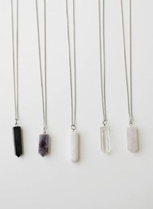 necklace Crystal long