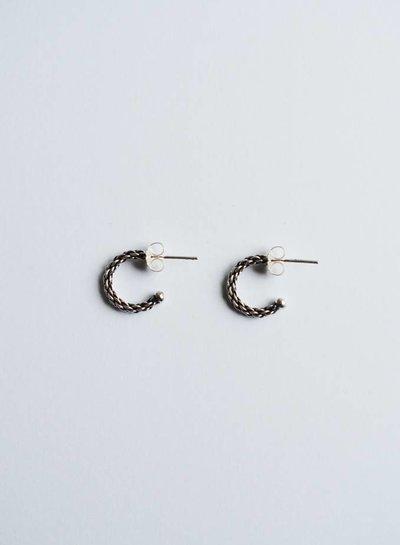 Rope Sterling earring