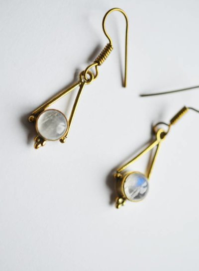 Over the Moon earring