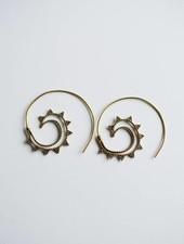 Inner circle earring