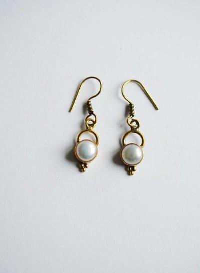 Pear earring