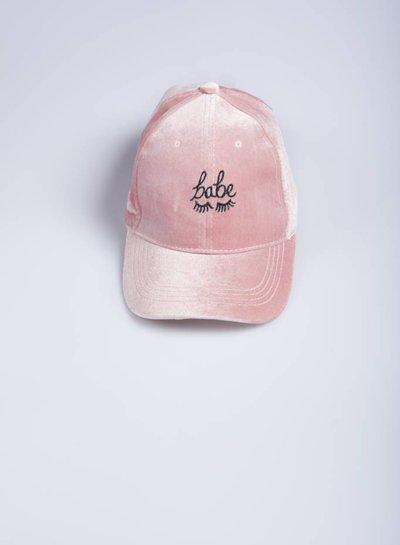 Babe velvet cap