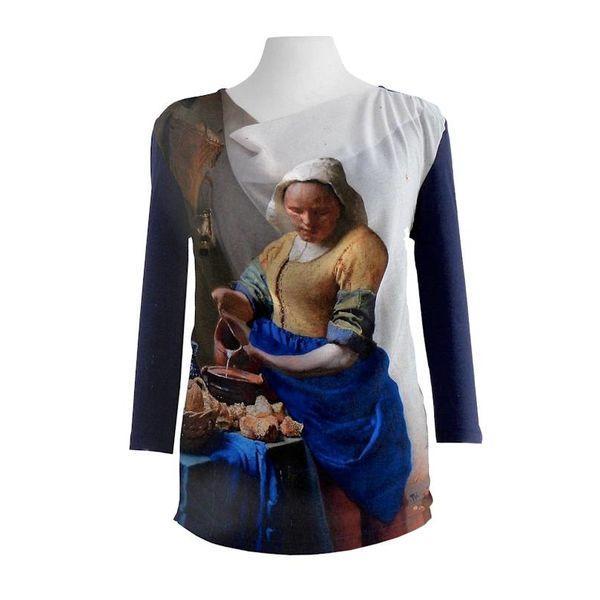 """T-Shirt  """"La Laitière"""" de Johannes Vermeer"""