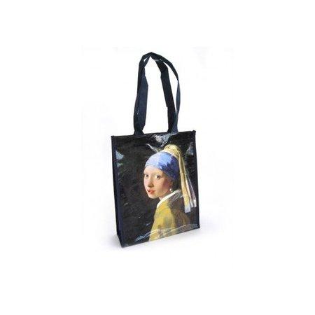 """Einkaufstasche """"Mädchen mit der Perle"""" von Vermeer"""