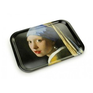 """Serving tray """"Girl with a Pearl Earring"""""""