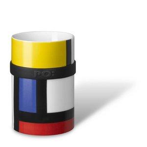 PO: beker (M) - Mondriaan