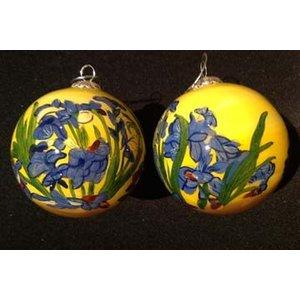 Handbemalte Van Gogh Irises Weihnachten