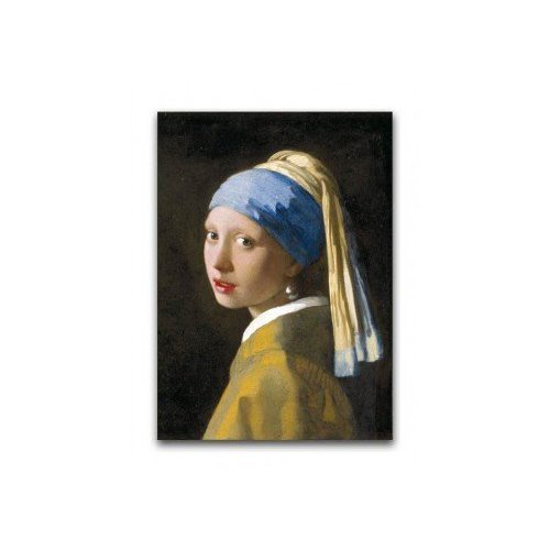 "Poster ""Girl with a Pearl Earring"" Vermeer"
