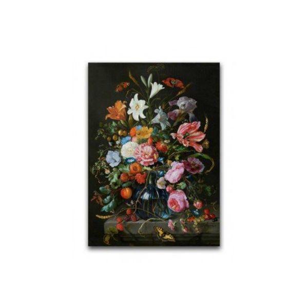 Poster Vase avec des fleurs