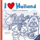 I love Holland boekje. Nederlands/ Engels