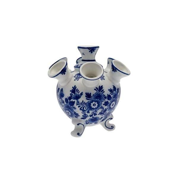 Tulipe Vase Fleur Bleue 13cm