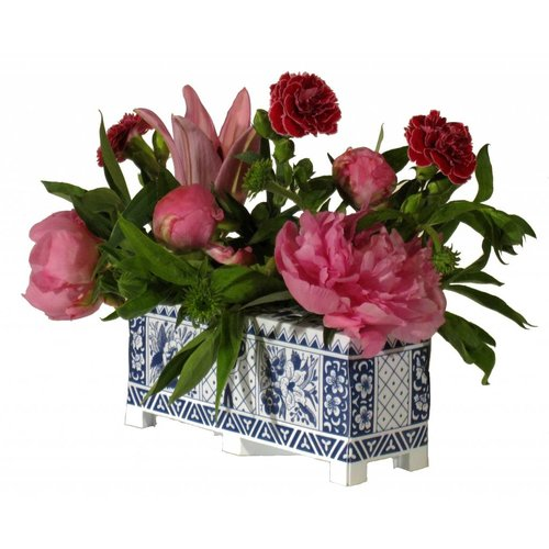 Piet Design Foldable flowers block