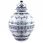 Piet Design Delfts blauwe stapelvaas